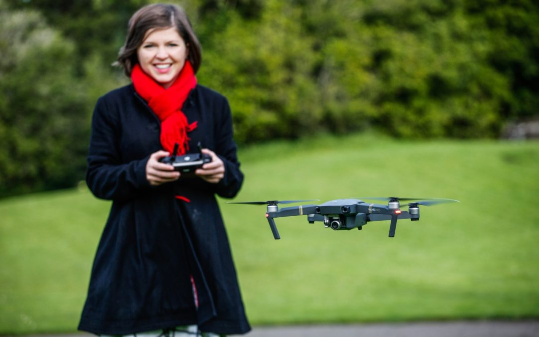 "Meet ""The Drone Girl"""