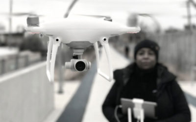This Drone Girl has the Scoop