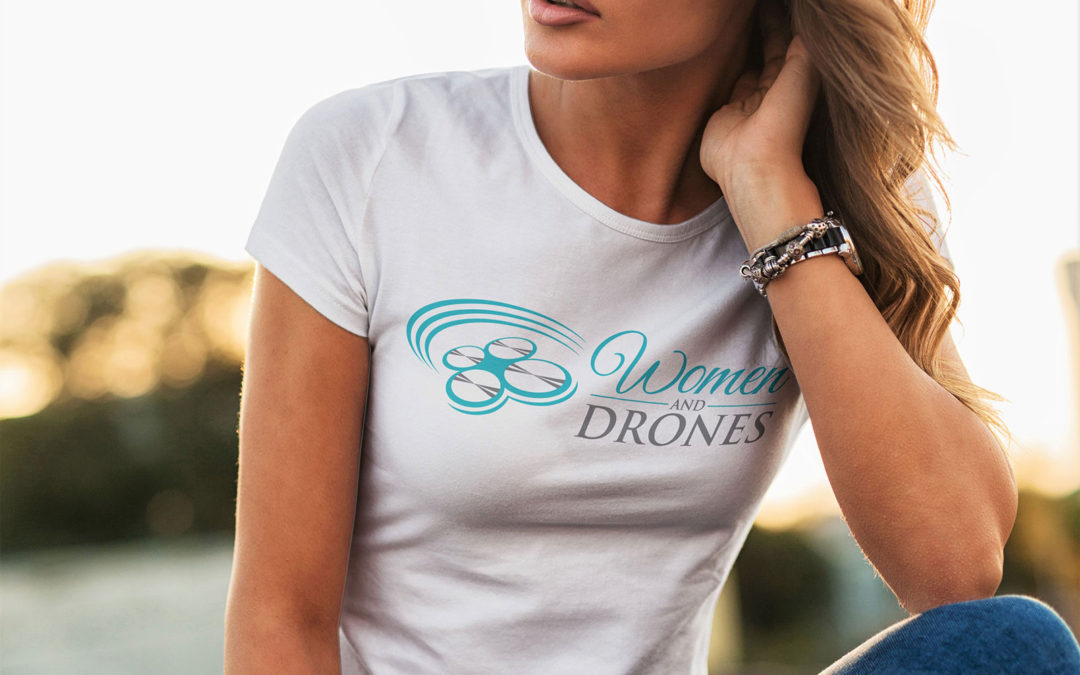 Women And Drones Logo T-Shirts & Tank Tops For Women