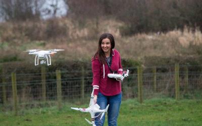 Little Miss Drone was a Gadget-Loving Girl