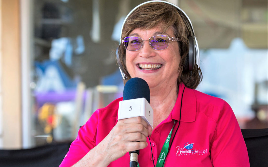 Learning about Women in Aviation International with Dr. Peggy Chabrian (Podcast)