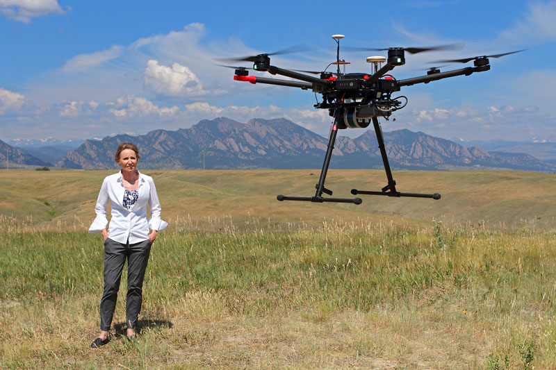 Drones, Engineering and the Woman Leading the Way (Podcast)