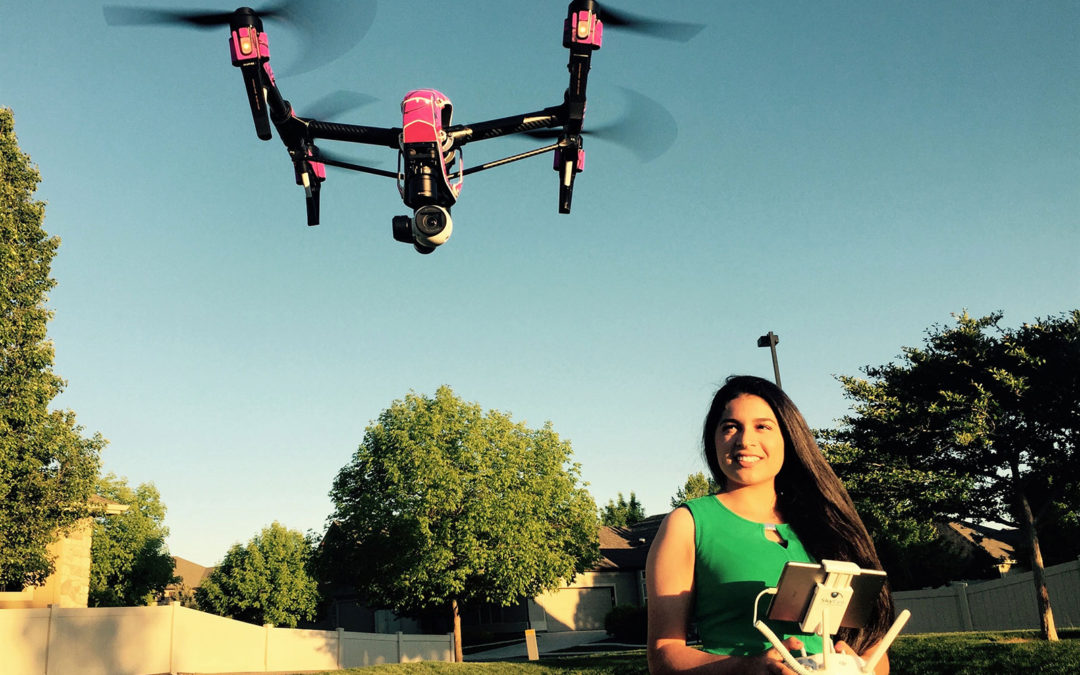 Teenage Entrepreneur Sees a Future in Flying Drones