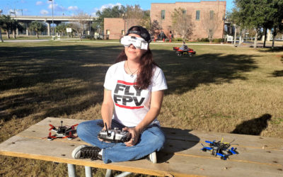 How She Got Hooked on Drone Racing