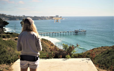 Her Love of the Ocean and Drones