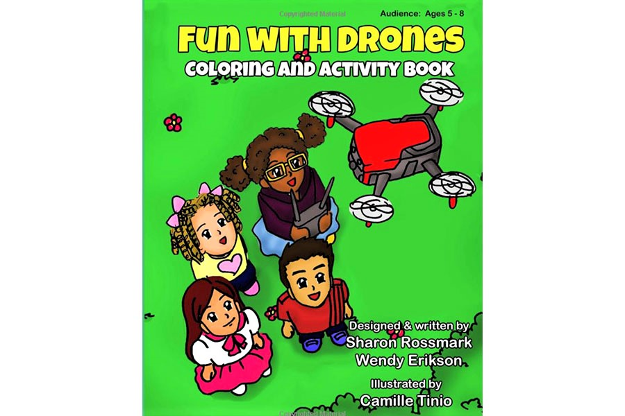 Drone Activity Book for Kids