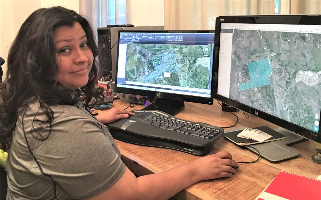 Mapping Her Way to GeoSpatial Success