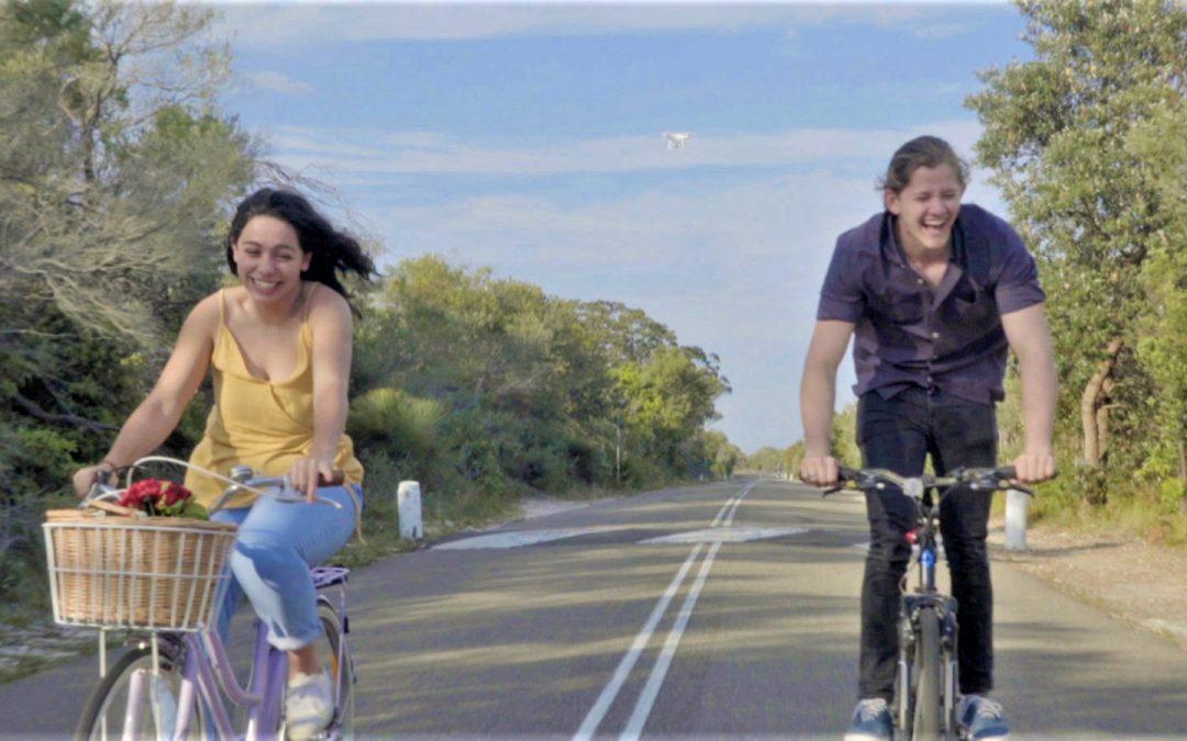 Graphic Designer Wins Top Prizes in Australia's BLUE2BLUE Drone Film Festival