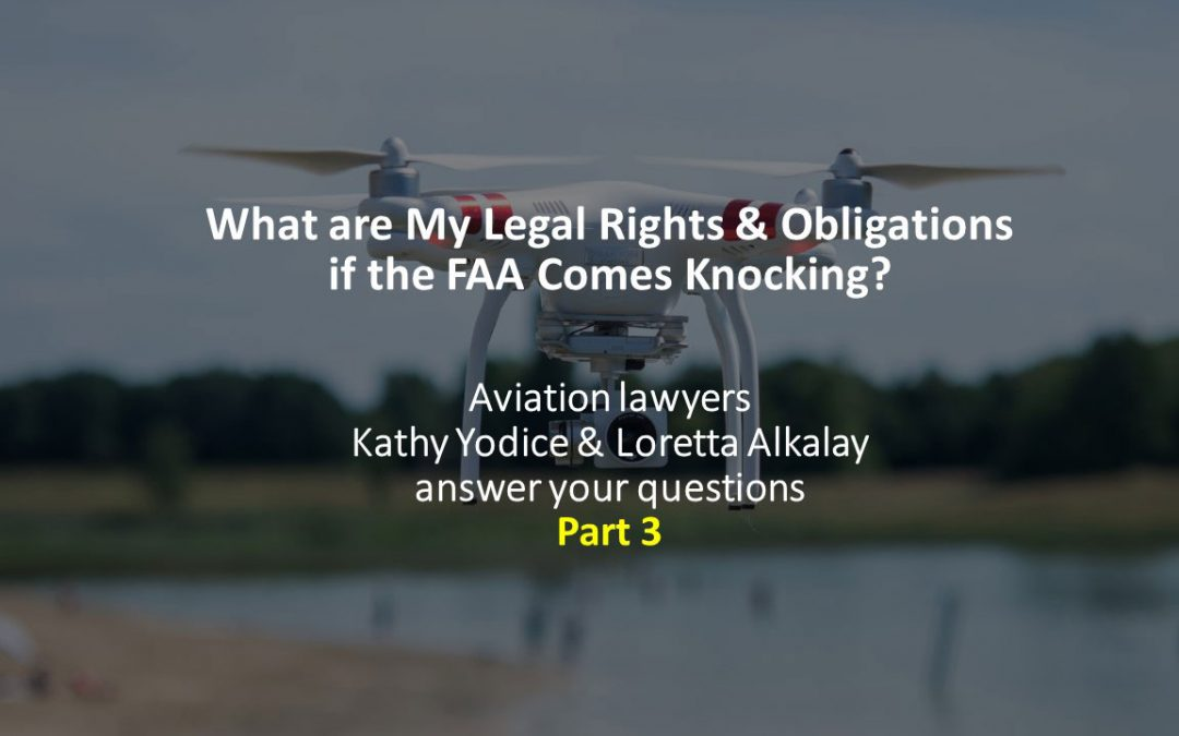 The FAA and Drones