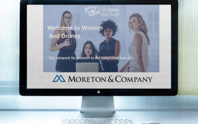 Women and Drones Partners with Moreton & Company