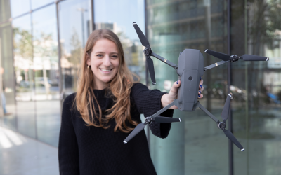 Her Introduction to the Drone Industry