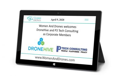Women and Drones Welcomes DroneHive and P3 Tech Consulting