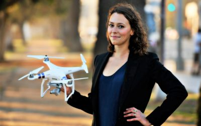 She's driving the tactics behind global adoption of Commercial UAS Operations