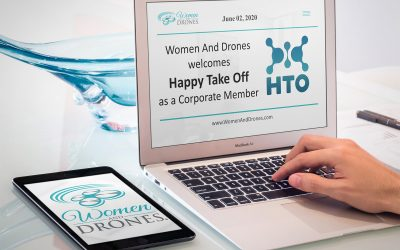 Women and Drones Announces New Corporate Member, Happy Take Off