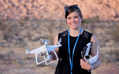 She's A True Trailblazer In Drone Training