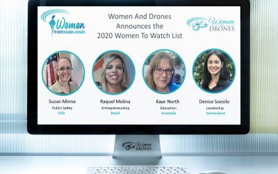 Women And Drones Announces the 2020 Women To Watch List