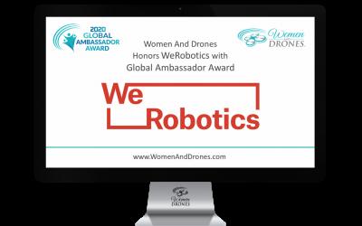 Women And Drones Honors WeRobotics with Global Ambassador Award