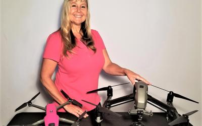 Drone Diva Desiree Ekstein Earns Highest Industry Certification
