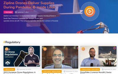 A New Online Video Platform, DroneTalks.online Launches