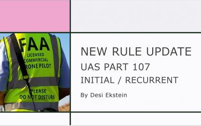Desi Ekstein Video: FAA New Rule Update 2021