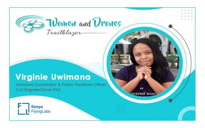 She's the Co-Owner of a Namibian Based Drone Supply Company