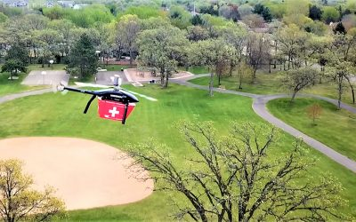 MissionGO & Minnesota Team Transports World's First Human Pancreas via Unmanned Aircraft